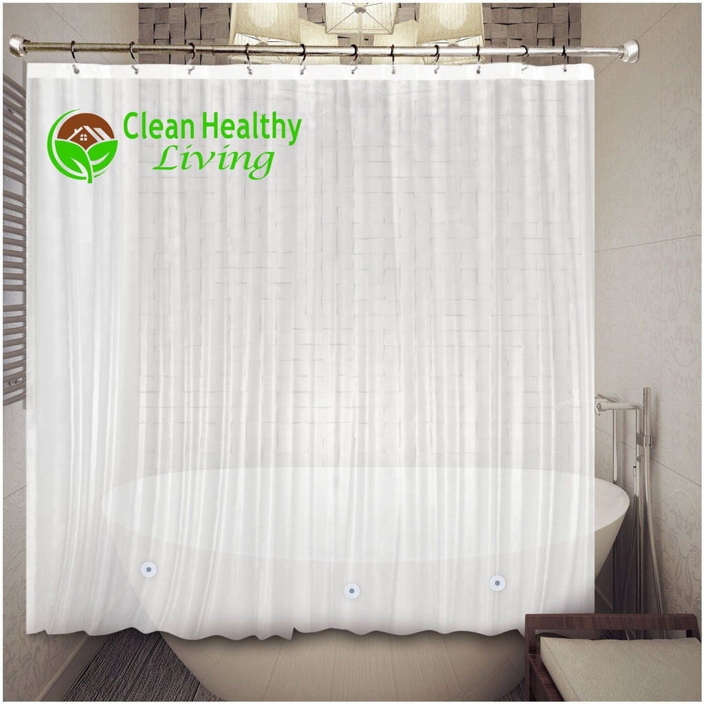 Best Alternatives to a Vinyl Shower Curtain Liner | Clean Healthy Living