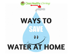 Smart Ways to Save More Water at Home