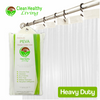 Heavy Duty PEVA Shower Liner - Clear