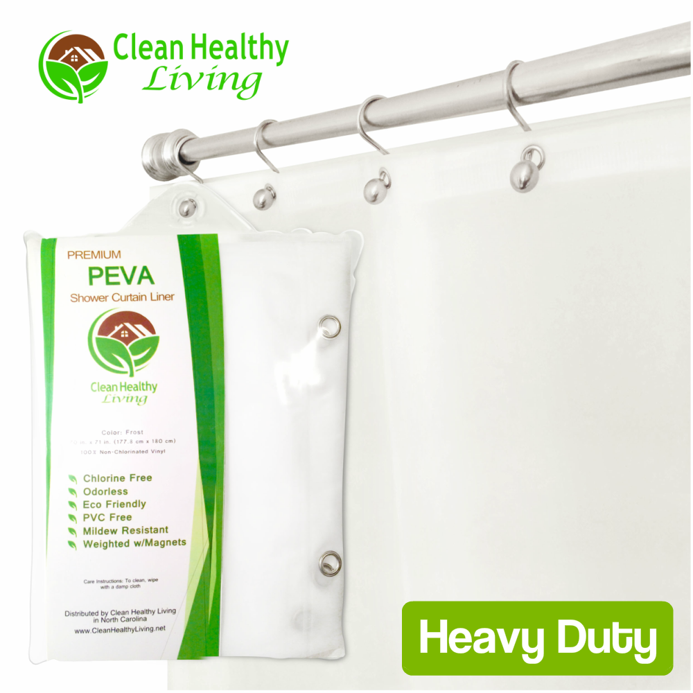 Heavy Duty PEVA Shower Liner - Frost