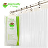 Premium PEVA Shower Liner - Clear