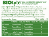 BIOLyte Oral Rehydration Recovery Soup - Chicken 3 pack