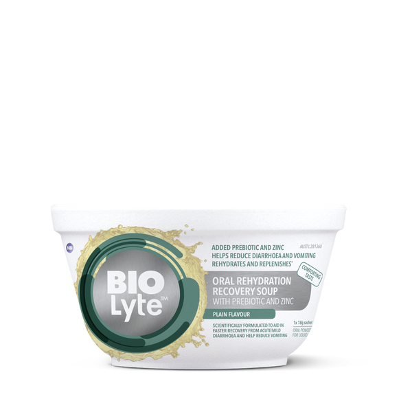 BIOLyte Oral Rehydration Recovery Soup - Plain 3 pack