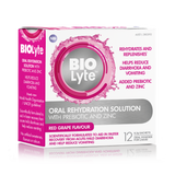 BIOLyte Oral Rehydration Solution 12 x 6.2g Sachets - Red Grape