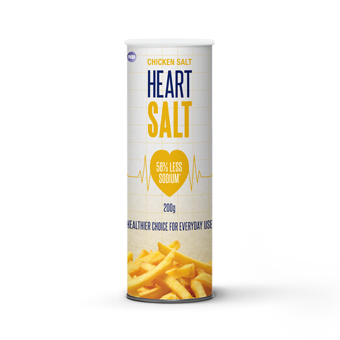 Heart SALT  200g - Chicken Salt Shaker