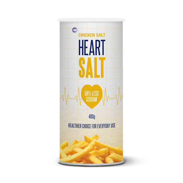 Heart SALT  400g - Chicken Salt Shaker