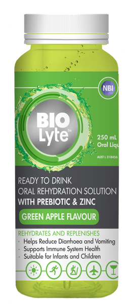 BIOLyte Ready to Drink 250mL - Green Apple