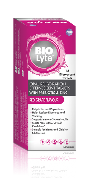 BIOLyte Effervescent 12s - Red Grape