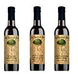 3 Pack Assorted Flavors, Pomegranate Balsamic & White Sesame Ginger Balsamic Vinegars (Italy), SD Tomato Parmesan Garlic Olive Oi l - TheFlavoredOlive