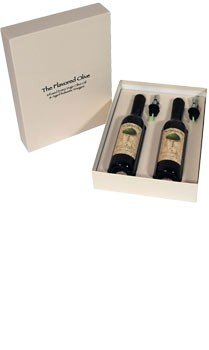 Fig Balsamic Aged Vinegar & Meyer Lemon Infused Olive Oil (Cold Pressed), Double Gift Box - TheFlavoredOlive