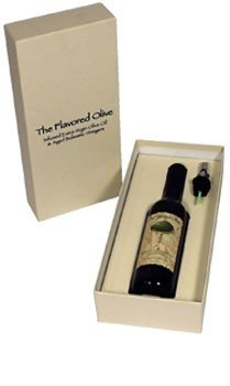 White Strawberry Peach Aged Balsamic Vinegar, Made In Italy, Single Gift Box