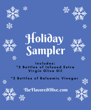 4 Pack Holiday Small Bottle Gift Box. - TheFlavoredOlive