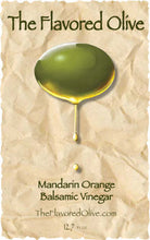 Mandarin Orange Balsamic Vinegar - TheFlavoredOlive