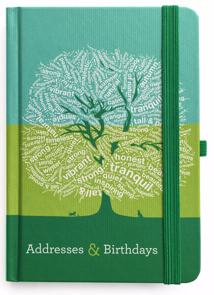 teNeues GreenAddress & Birthday Book- Dominique Vari