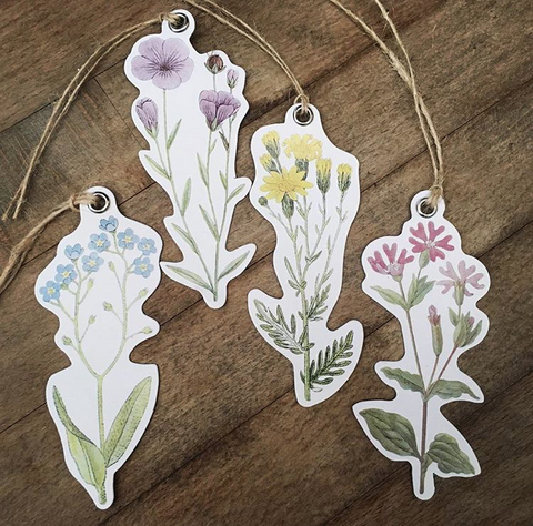 Wildflowers Gift Tags (CR144)