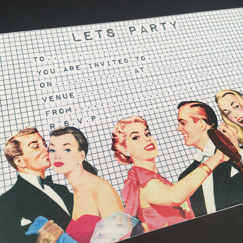 Invitation Pack - Lets Party
