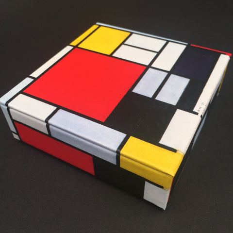 Piet Mondrian Mini Flip Notecards