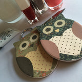 Owl Nail File - Rose