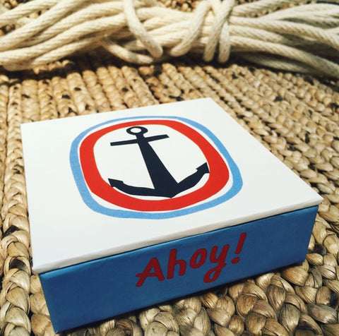 Ahoy! Mini Flip Notecards
