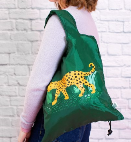 Leopard Love Reusable Shopping Bag