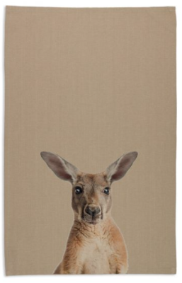 Tea Towel - Kangaroo