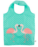 Tropical Flamingo Reusable Shopping Bag