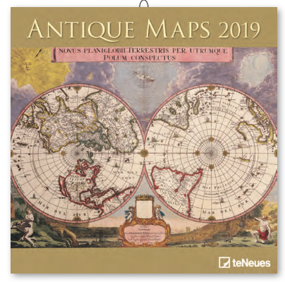 Antique Maps Calendar