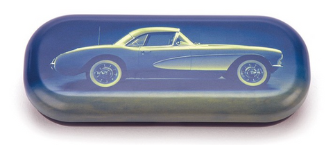 Vintage Car Glasses Case