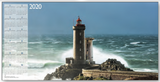 Lighthouses Calendar A&I
