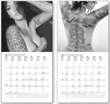 Tattoo Girls Calendar
