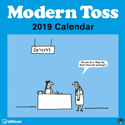 Mini Grid Calendar - Modern Toss