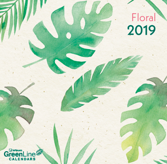 Mini GreenLine Calendar - Floral