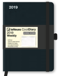 Cool Diary Small - Black