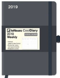 Cool Diary Large - Grey