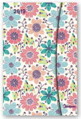 Magneto Diary Small - Flowers