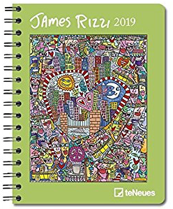 deluxe diary james rizzi