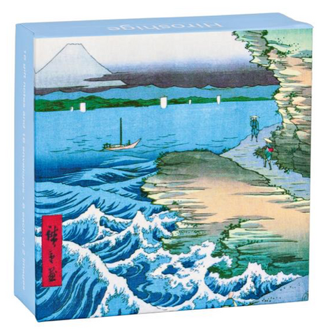 Hiroshige Mini Flip Notecards