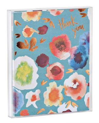 Blooms Thank You Notecard Set