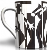 Bone China Mug - Jazz