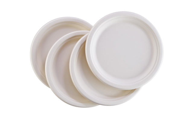 Transitions2earth Biodegradable/ Compostable 6-inch Bagasse Plates