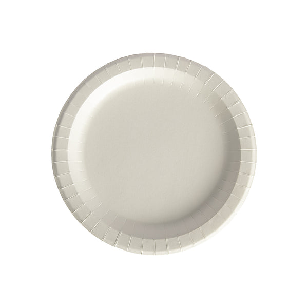 "Transitions2earth PFAS-Free Non-Toxic Compostable 9"" Round Plate - Package of 100 - Plant a Tree With Each Item Purchased!"