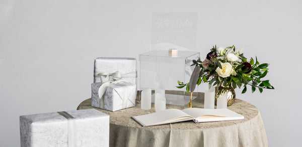Guest Book & Gift Table Styling