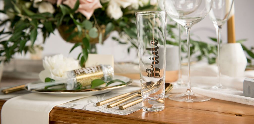 New Bridal Party Drinkware