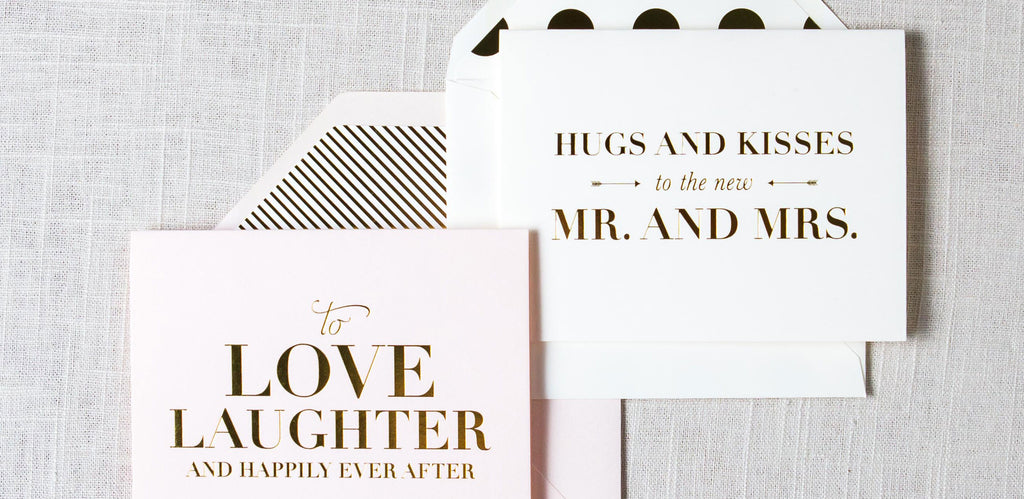 Our Favorite Wedding Cards
