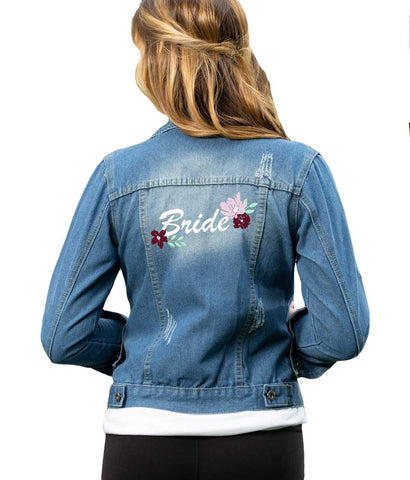 Paisley Box Favorite - Bride Jean Jacket