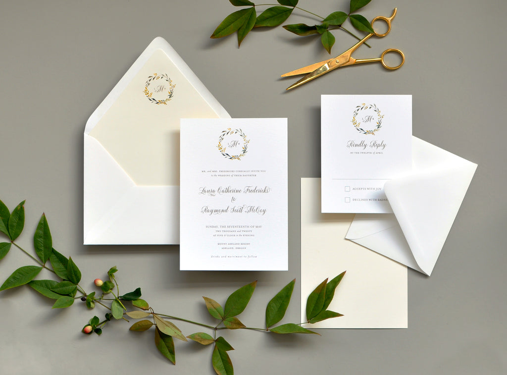 Sweet Summer Custom Wedding Invitation