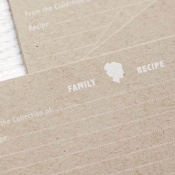Kraft Recipe Cards