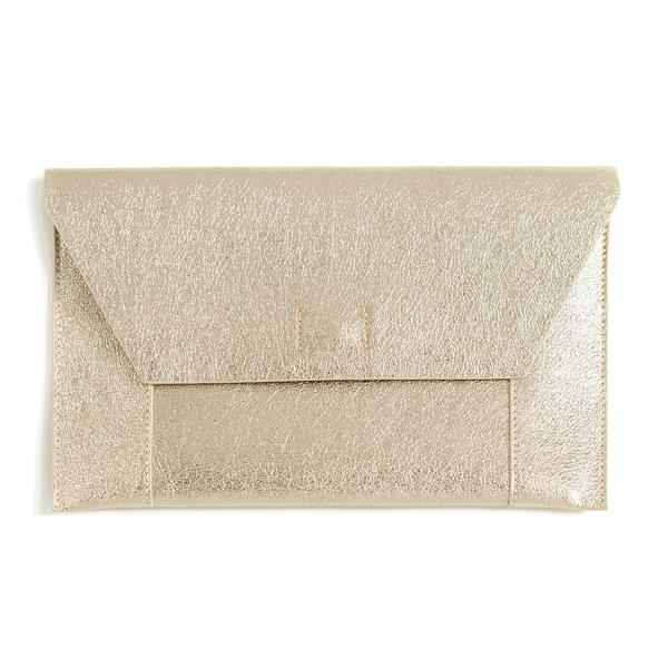 Gold Fiona Clutch Shiraleah - Cork Collection