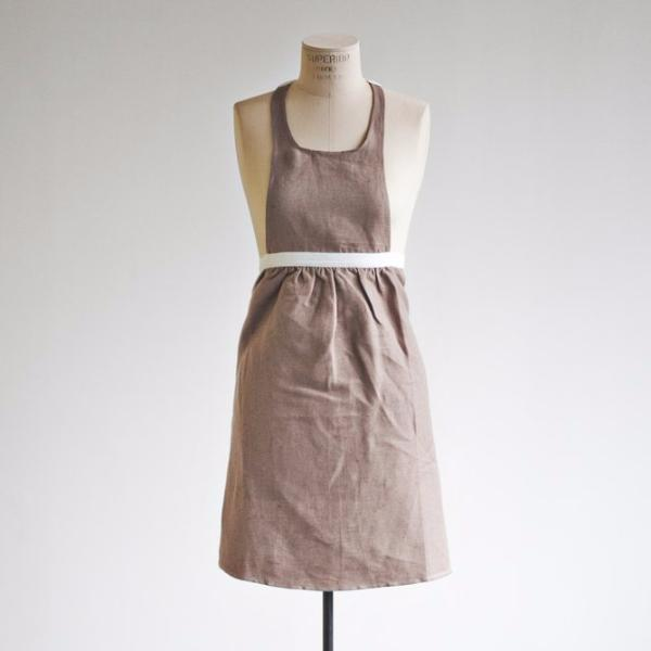 Pecan Full Skirt Apron