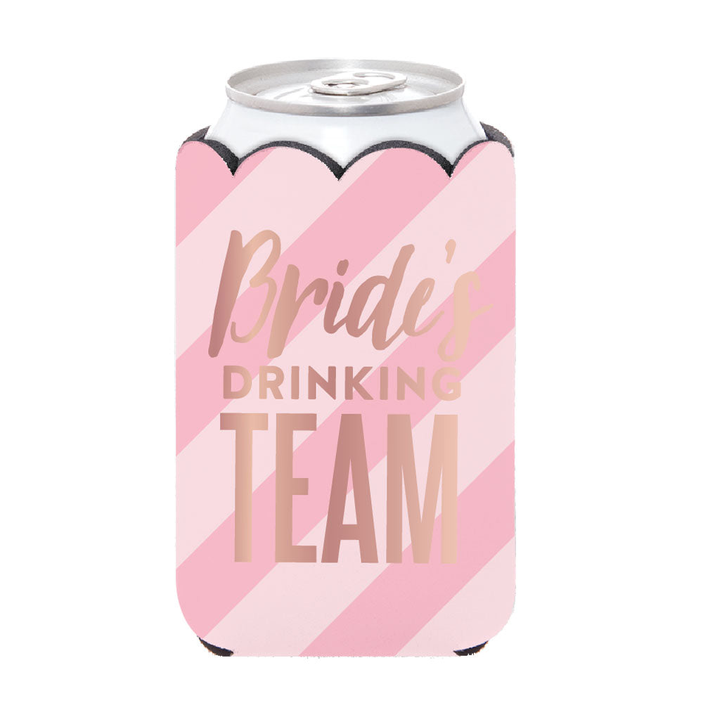 Brides Drinking Team Can Cover